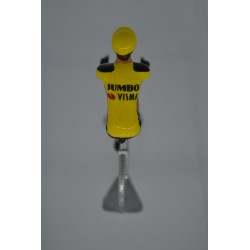 Jumbo Visma Saison 2020 figurine petit cycliste
