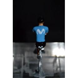 Movistar Saison 2020 figurine petit cycliste