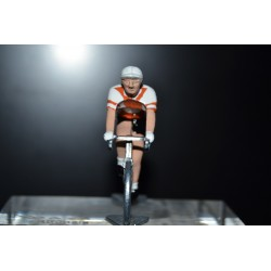 Bic - Lot de 2 petits cyclistes en metal