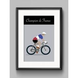 Poster Champion France