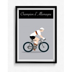Poster Champion Allemagne