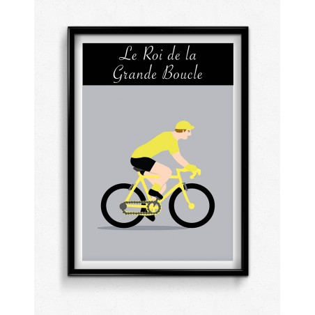 Poster Champion Maillot Jaune