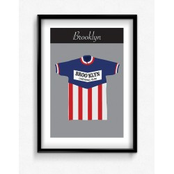 Poster Maillot Collector Brooklyn