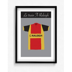 Poster Maillot Collector Ti Raleigh