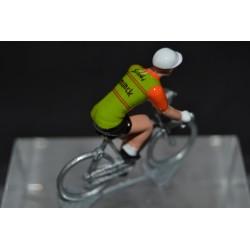 Siriki Munck 1971 figurine petit cycliste