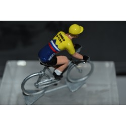 Roglic Champion de Slovenie - petit cycliste figurine