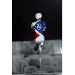 FDJ Française des jeux - Petit cycliste en metal