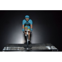 "Vincenzo Nibali ""Italian Champion"" - die cast cyclist figurine"