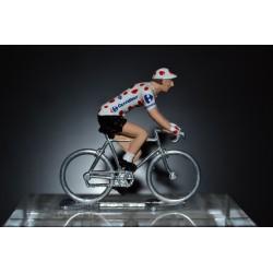 Maillot à pois 2016 - Petit cycliste en métal