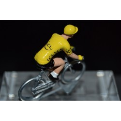 Yellow Jersey 2016 - metal cyclist figurine