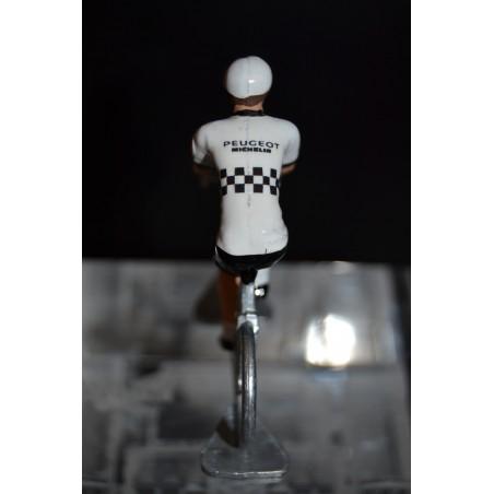 Peugeot - petit cycliste en metal