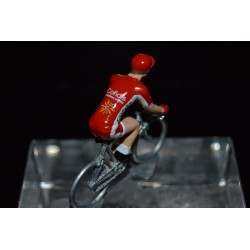 Cofidis 2017 - petit cycliste miniature en metal