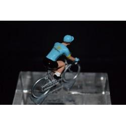 Astana 2017 - petit cycliste miniature en metal