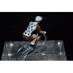 AG2R 2017 - petit cycliste miniature en metal