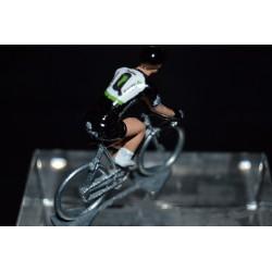 Dimension Data 2017 - petit cycliste miniature en metal