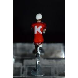 Katusha Alpecin 2017 - Metal cycling figure