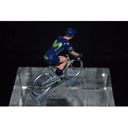 Movistar 2017 - petit cycliste miniature en metal