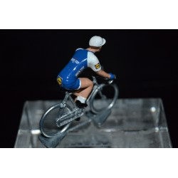 Quick Step Floors 2017 - petit cycliste miniature en metal