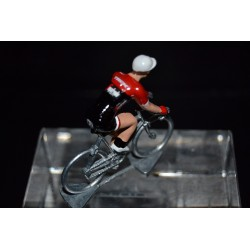 Trek Segafredo 2017 - Metal cycling figure