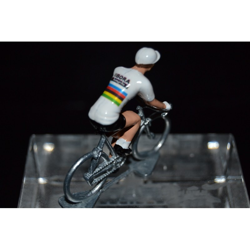World Champion 2016/2017 Peter Sagan - Metal cycling figure