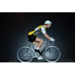 Renault - metal cycling figurine