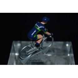 Orica Scott 2017 - petit cycliste miniature en metal