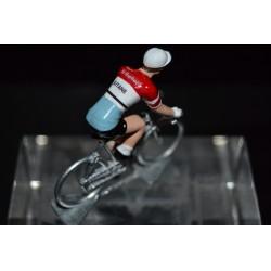 Gitane St Raphael - petit cycliste en metal