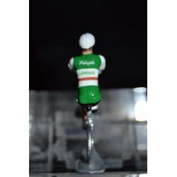 Helyett Leroux - petit cycliste en plomb metal zamak