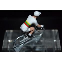 Lithuania Champion Ignatas Konovalovas - cycling figurine, cyclist figure
